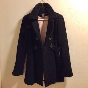 ⚡️Wool dressy black peacoat